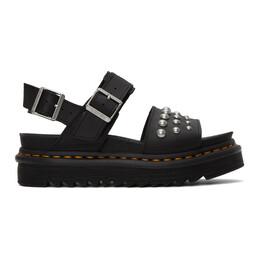 Dr. Martens Black Stud Voss Sandals R25454001