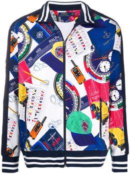 Polo Ralph Lauren легкая куртка с принтом 710790868