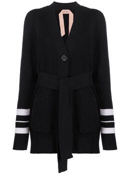 No. 21 кардиган-пальто с поясом 20EN2M0A0127523