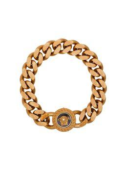 Versace цепочный браслет с декором Medusa DG06996DJMS