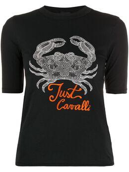 Just Cavalli футболка с принтом S04GC0375N21429