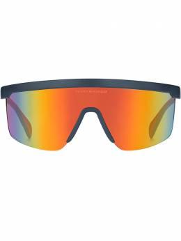 Tommy Hilfiger солнцезащитные очки-маска 66LOX99UW