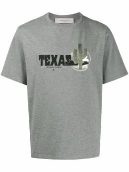 Golden Goose футболка с принтом Texas G36MP524K3
