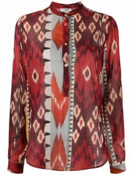 Forte_Forte блузка с абстрактным принтом 7302MYSHIRT
