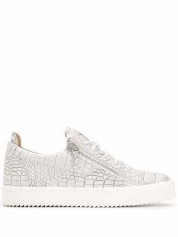 Giuseppe Zanotti Design croc-effect sneakers RU70000