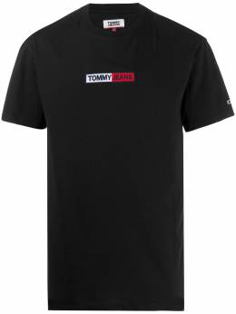 Tommy Jeans embroidered logo cotton T-shirt DM0DM07868