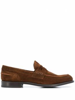 Tagliatore slip-on cut out detail loafers ROMANORE20CB