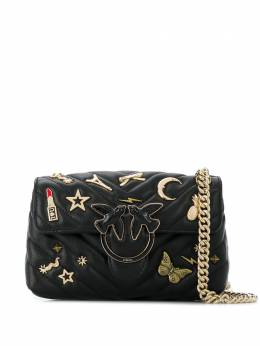 Pinko мини-сумка через плечо Love Pin 1P21PYY67BZ99
