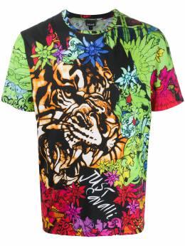 Just Cavalli футболка с принтом S03GC0593N21496