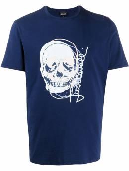 Just Cavalli футболка с принтом S03GC0583N20663