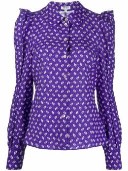 Kenzo блузка с абстрактным принтом FA52CH01754B