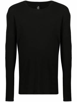 Thom Krom long-sleeve fitted jumper MTS496