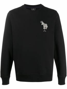 Ps by Paul Smith zebra-print crew neck sweatshirt M2R027RAP1899