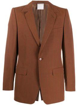 Romeo Gigli Pre-Owned полосатый пиджак 1997-го года RGIG450E