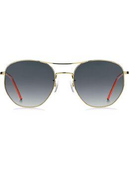 Tommy Hilfiger солнцезащитные очки в круглой оправе 27J5G579O