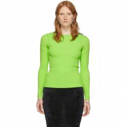 Balenciaga Green Tab Sweater 583140-T5101