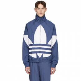Adidas Originals Blue Big Trefoil Track Jacket FM9894