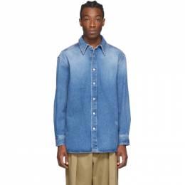 Loewe Blue Denim Shirt H526337X64
