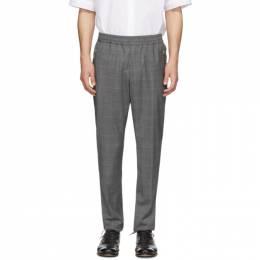 Stella McCartney Grey Check Piet Trousers 528612SOO07