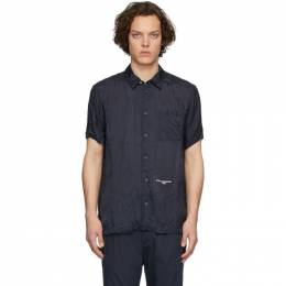Stella McCartney Navy Cupro Timothy Shirt 600265SON15
