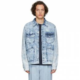 Isabel Marant Blue Denim Ranko Jacket 20PVE1250-20P037H