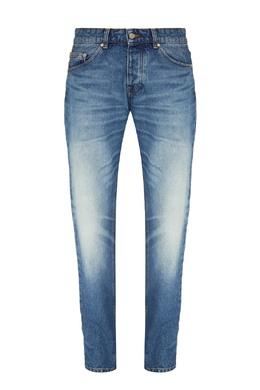 Синие джинсы с потертостями Ami 1376189901