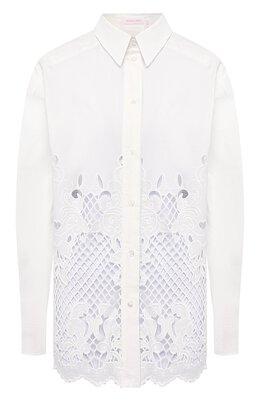 Хлопковая блузка See By Chloe CHS20SHT38022