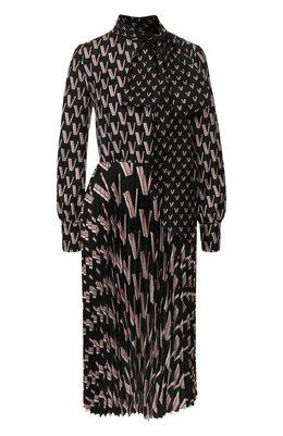 Шелковое платье Valentino TB3VAQL055L