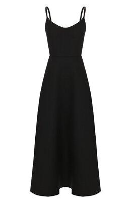 Платье из шерсти и шелка Valentino TB0VARK61CF