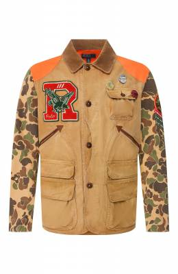 Хлопковая куртка Polo Ralph Lauren 710790265