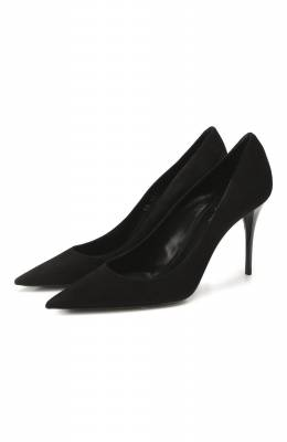 Замшевые туфли Lexi Saint Laurent 603912/C2000