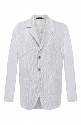 Пиджак из смеси вискозы и шелка Giorgio Armani 0SGGG0EL/T010K
