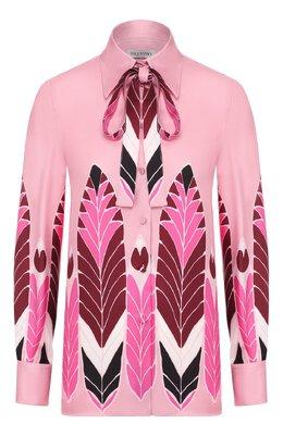 Шелковая блузка Valentino TB3AB16D54E