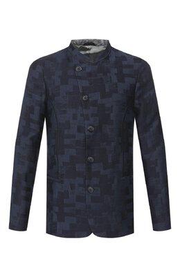 Пиджак из смеси льна и вискозы Giorgio Armani 0SGGG0FA/T01JJ