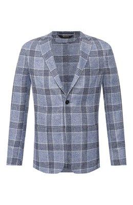 Пиджак из смеси льна и шелка Z Zegna 754799/1D7SG0