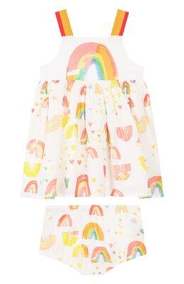Комплект из платья и шорт Stella McCartney 589582/S0K69