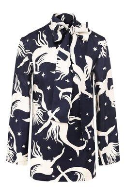 Шелковая блузка Valentino TB3AE4A656L