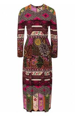 Шелковое платье Valentino TB3VAQJ5583