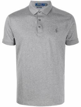 Polo Ralph Lauren рубашка-поло в мелкую точку 710790035