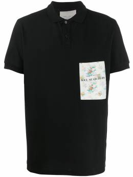 Frankie Morello embroidered logo polo shirt FMS0766PO2501