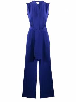 Semicouture tie-waist wide-leg jumpsuit Y0SU11