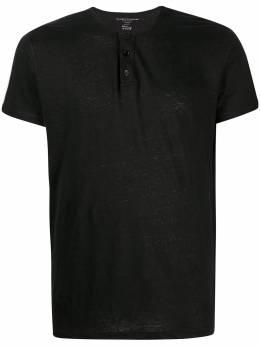 Majestic Filatures short-sleeve henley shirt M511HTU032