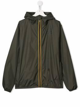 K Way Kids непромокаемая куртка с капюшоном K00BEL0