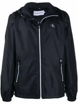 Calvin Klein Jeans logo printed rain jacket J30J315279