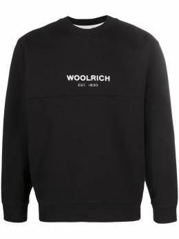 Woolrich embroidered logo sweatshirt CFWOSW0042MRUT1465