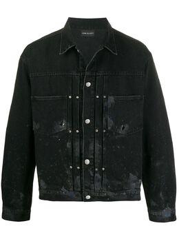 John Elliott paint splatter distressed denim jacket G284E69470LDD