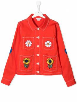 Stella McCartney Kids TEEN floral denim jacket 588622SOK99