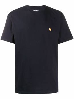Carhartt Wip logo embroidered crew neck T-shirt I02639103