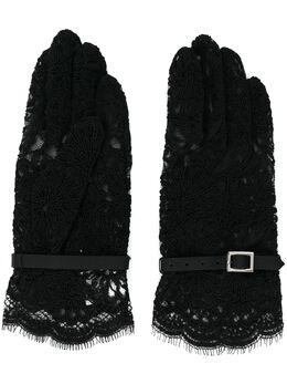 Comme Des Garcons Noir Kei Ninomiya кружевные перчатки 3EK701S20