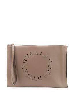 Stella McCartney Stella Logo clutch 570276W8542